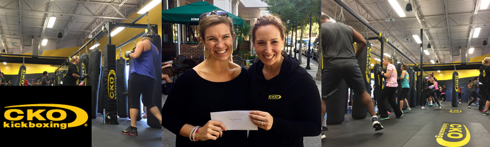CKO Kickboxing Charlotte Raises $1000 for Claire's Army & Becomes a Proud Sponsor